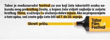 14. Tabor Film Festival
