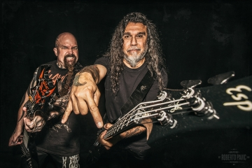 Kerry King i Tom Araya - Slayer (Foto: Roberto Pavić)