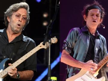 Eric Clapton i Keith Richards (Foto: Wikipedia)
