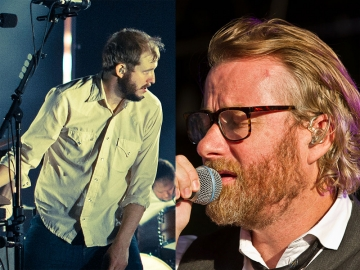 Bon Iver i The National (Foto: Wikipedia)