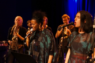 Fire! Orchestra u bečkom klubu Porgy & Bess (Foto: Patrick Hafner)