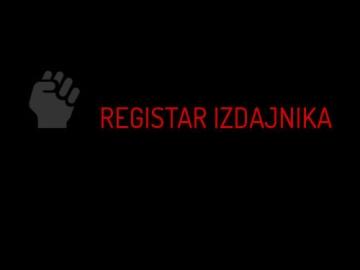 'Registar izdajnika'