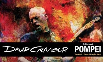 David Gilmour na Pompejima