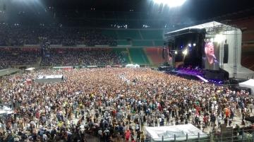 Bruce Springsteen u Milanu 3. srpnja 2016. (Foto: Vedran Brkulj)