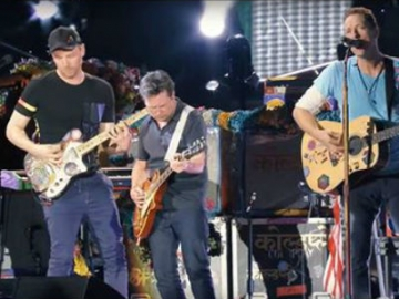 Coldplay i Michael J. Fox (Izvor: Youtube)