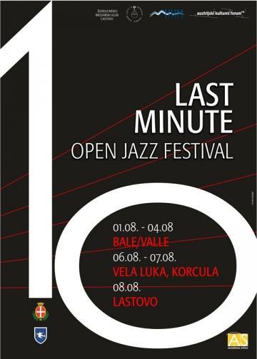 10. Last Minute Open Jazz Festival