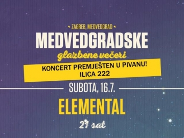 Medvedgradske glazbene večeri sele u Pivanu večeras