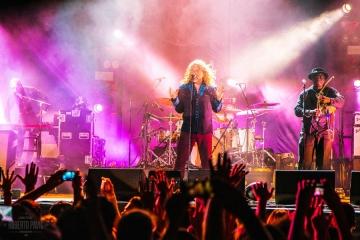 Robert Plant u Areni u Puli (Foto: Roberto Pavić)