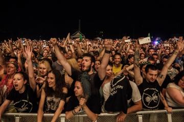 Publika na The Prodigy u Zadru (Foto: Vedran Levi / Perun.hr)