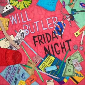 Will Butler 'Friday Night'