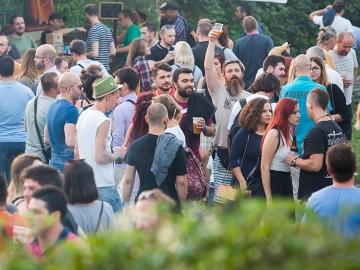 BeerYard festival u dvorištu Jedinstva i Močvare (Foto: Tomislav Sporiš)