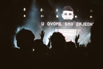 Massive Attack u Pulskoj Areni na otvorenju 5. Dimensions Festivala (Foto: Dimensions Festival)
