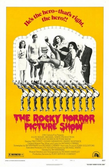 Originalni poster filma 'Rocky Horror Picture Show' iz 1975. godine