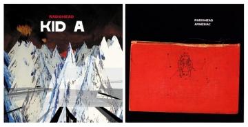 Radiohead 'Kid A' i 'Amnesiac'