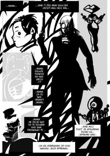 'Aero': Devil inside comics