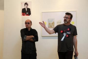 Vojo Šindolić i jedan od organizatora FALIŠ-a Kruno Lokotar (Foto: Jozica Krnić/Tris)