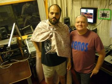 Vid Jeraj i Petar Šarac - Voditelji radijske emisije 'Glazba protiv vetrenjača' na bečkom Radio Orange 94.0 (Foto: Ruth Ranacher)