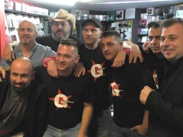 Greaseballs promoviraju izlazak prvog albuma u Dancing Bear shopu (Foto: Zoran Stajčić)