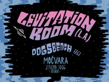 Levitation Room i zagrebački bend Dog's Beach u Močvari