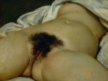 Gustave Courbet (1819-1877) - The Origin of the World