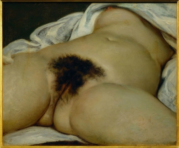 Gustave Courbet (1819-1877) 'The Origin of the World'