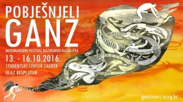 Pobješnjeli Ganz novi festival (Dizajn: Klara Rusan)