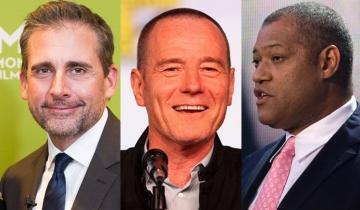 Steve Carell, Brian Cranston i Laurence Fishburne (Foto: Wikipedia)