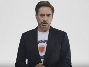 Robert Downey Jr u anti-Trump kampanji