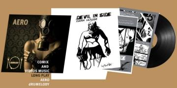 dRUMELODY 'Aero': prvi multimedijalno vinil/strip izdanje u Regiji