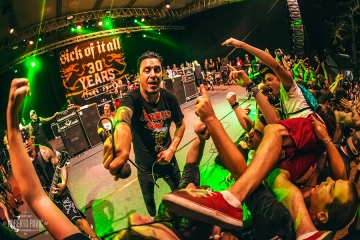Sick Of It All na Punk Rock Holidayju u Tolminu (Foto: Roberto Pavić)