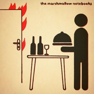 The Marshmallow Notebooks - naslovnica za sjevernoameričko izdanje albuma