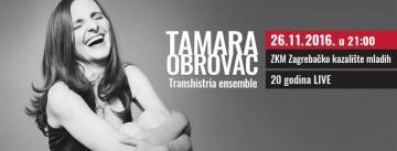 Tamara Obrovac gostuje u ZKM-u