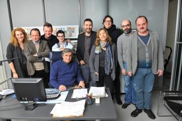 Ekipa dramske serije 'Novine'