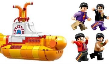 Lego The Beatles Yellow Submarine (Foto: Lego Press)