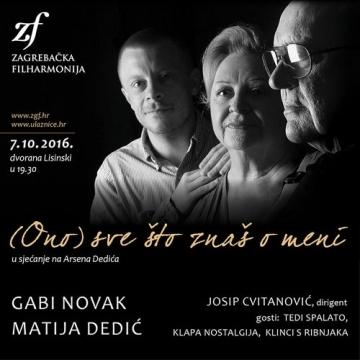 Gabi, Matija i zagrebačka filharmonija u Lisinskom
