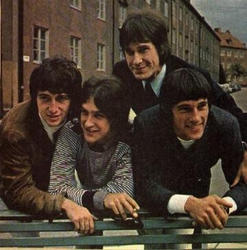 The Kinks - originalna postava iz 1965.: Pete Quaife, Dave Davies, Ray Davies i Mick Avory