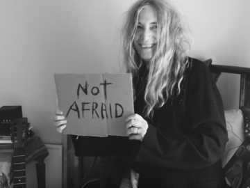 Patti Smith u 'We Are Not Afraid' projektu