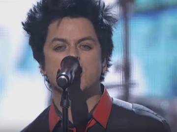 Green Day na American Music Awardsu