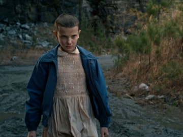 Millie Bobby Brown kao Eleven u seriji 'Stranger Things' (Izvor: Netflix)