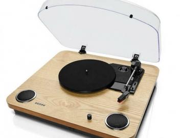 ION USB gramofon koji se može kupiti u britanskim prodavaonicama njemačkog trgovačkog lanca Lidl