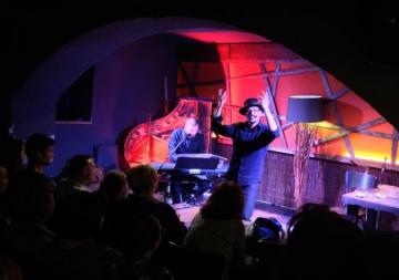 'Od tišine do glazbe - koncert za anegdotu i klavir' u Vinylu (Foto: Vedran Peternel)