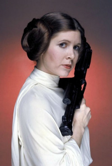 Carrie Fisher kao Princess Leia (Foto: Wikipedia)