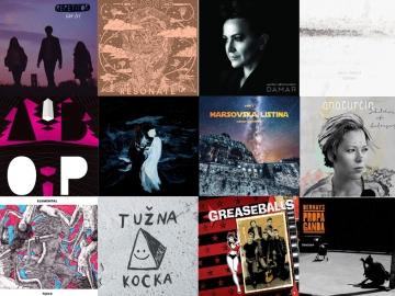 Najbolji domaći i regionalni albumi 2016. godine