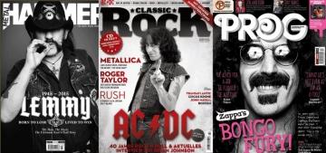 Metal Hammer, Classic Rock i Prog