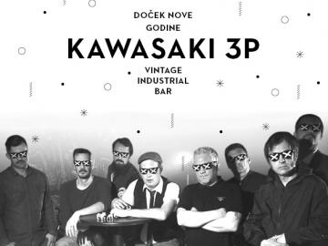Kawasaki 3P u Vintage Industrial Baru
