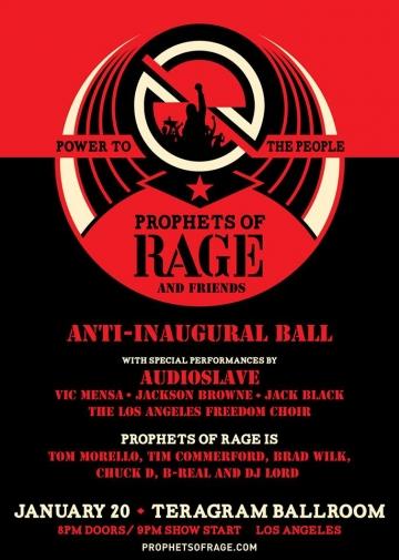Plakat anti-inauguracijskog bala