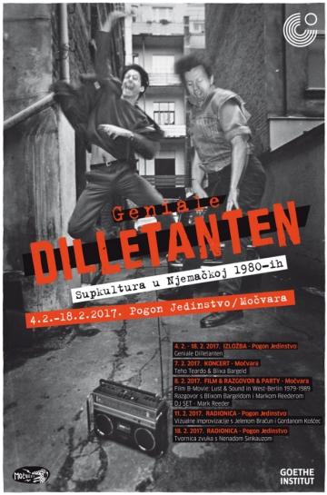 'Geniale Dilletanten' u Pogonu Jedinstvo