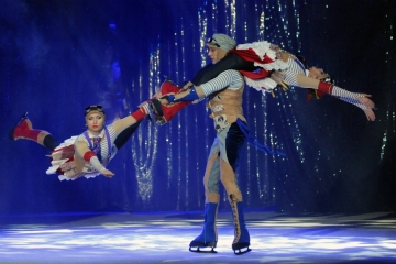 Moskovski cirkus na ledu u Zagrebačkoj areni (Foto: Mladen Pobi)