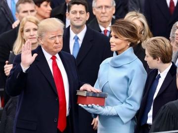 Donald Trump na inauguracijskoj svečanosti (Foto: Wikipedia)
