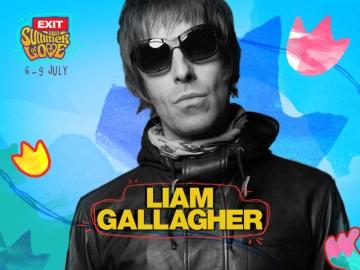 Liam Gallagher na Exit Festivalu